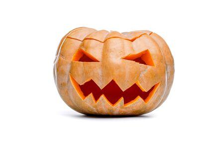 Photo of Halloween Pumpkin. Scary Jack OLantern