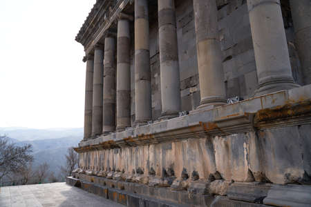Antique temple in Garni