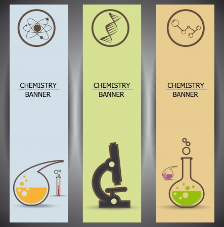 toxic substance: chemistry web banners