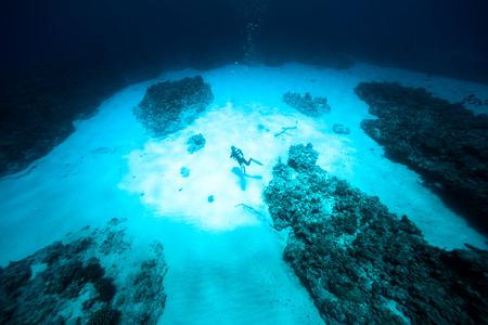 onderwater schijnwerper