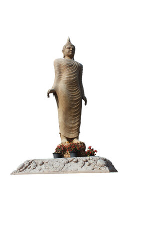 Buddha Statue Isolated photo