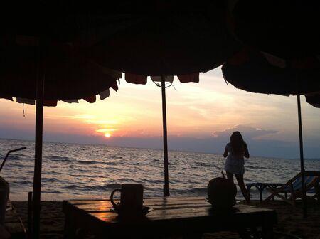 sissy: Sun set with my sissy