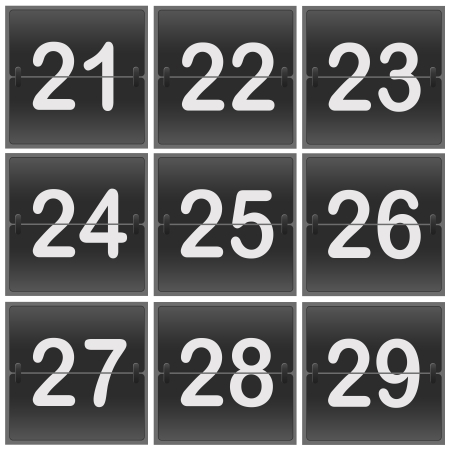 flipper: Tableau de bord chiffres flipper