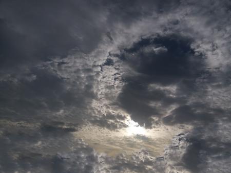 Angle in the dark sky