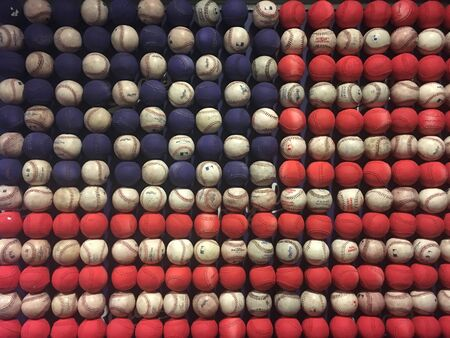 American Pastime Baseball Flag Éditoriale