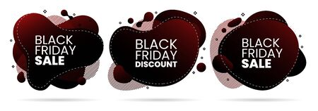 black friday sale promo fluid liquid abstract design background element