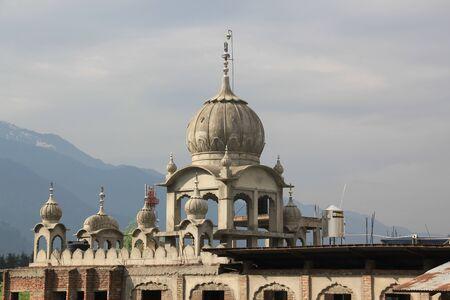 gurudwara: Sikh temple under construction. New temple Gurudwara