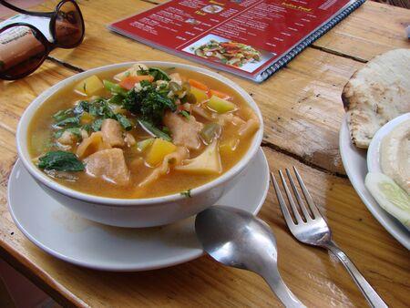 Tupka, Tukpa, Tibetan soup cooked in Dharamsala