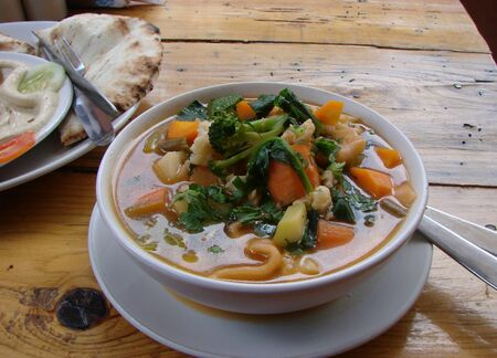 Tukpa, Tupka, Tibetan soup cooked in Dharamsala
