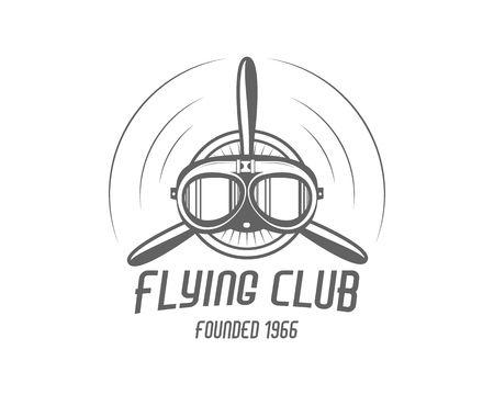 aeroplane logo vector Ilustracja