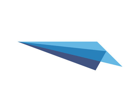 Airplane paper logo