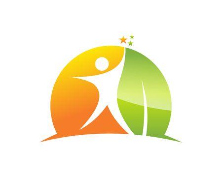 joyous life: Better Life Logo Illustration