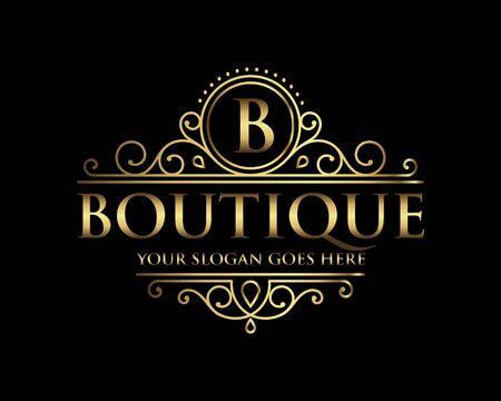 Boutique Luxury Logo templat