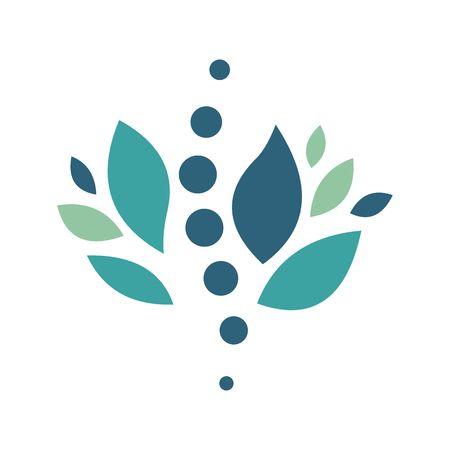 Chiropractic, logo, icon, vector Illustration