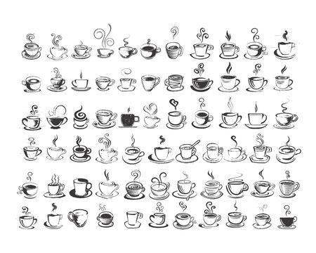 Coffe cup, logo, vector