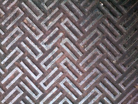 plate: Steel plate square background