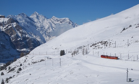 uplands: Train to Jungfraujoch