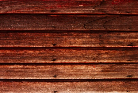 Old wooden wall with rusty nails with water strain Stock Photo - 9710144