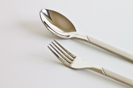 Spoon and fork photo
