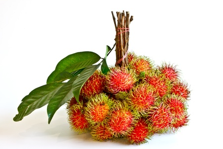 Rambutan, delicious fruit from Thailand