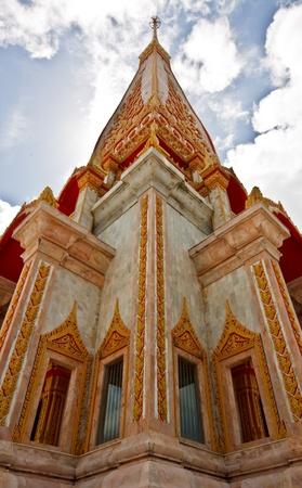 chalong: Chalong temple, Phuket Thailand
