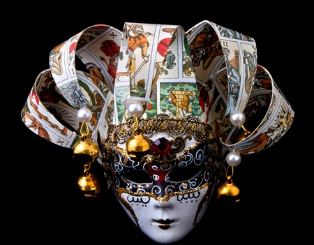 Canival mask of Venice, Italy photo