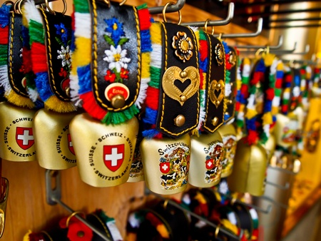 Cowbell souvenir, Switzerland photo