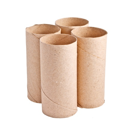 Recycle papre roll photo