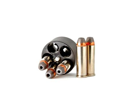 magnum: Balles dans le chargeur de vitesse pour arme de poing revolver