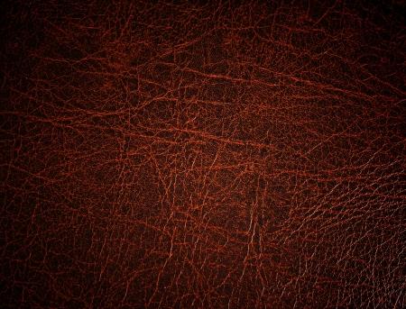 chaqueta de cuero: Superficie de cuero rojo, fondo Foto de archivo