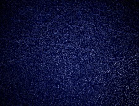 leathery: Blue leather surface, background