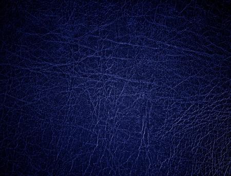 cuero vaca: Superficie de cuero azul, fondo