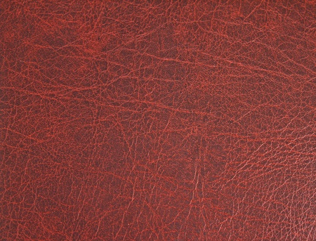 materia prima: Superficie de cuero rojo, fondo Foto de archivo