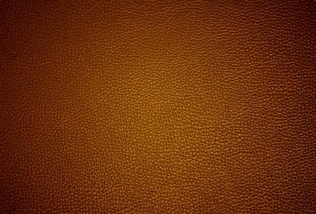 cuero vaca: superficie de cuero marrón, fondo Foto de archivo