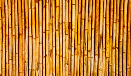 jute texture: a bamboo wall background Stock Photo