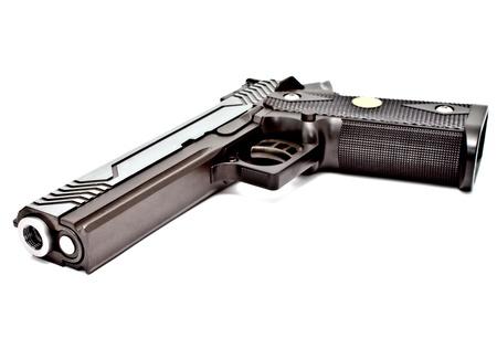 .45 semi automatic handgun Stock Photo - 10740244