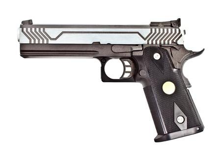 .45 semi automatic handgun Stock Photo - 10740258