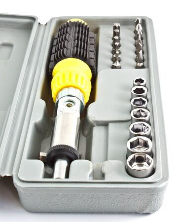 set of screwdriver, mechanic tools Stock Photo - 10740238