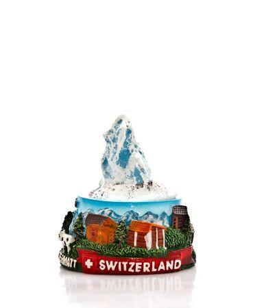 matterhorn: swiss mountain souvenir