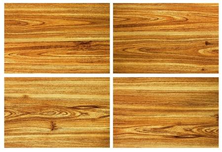 set of teak wood surface backgrounds photo
