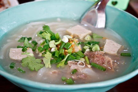 Vietnamese noodle or Pho photo