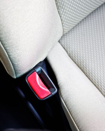 car safety belt socket photo