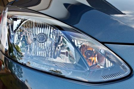 auto glass: car head lamp