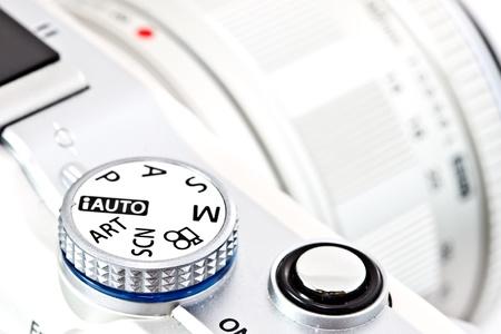 programmed: camera program control wheel and shutter