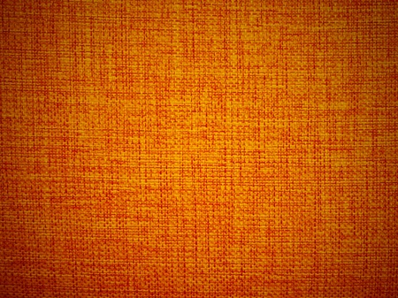 texture of orange fabric using for background photo