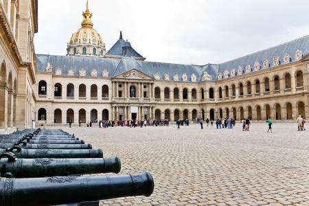 invalides: hotel de invalides, the army museum, Paris, France