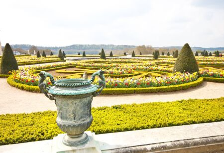 garden of Versailles palace, France photo
