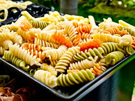 boiled macroni for cooking Stock Photo - 14989317