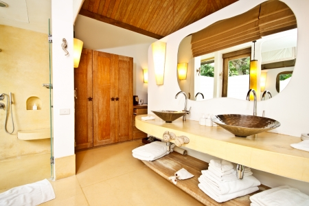 interior of a luxury hotel room in Thailand Stock Photo - 15157775