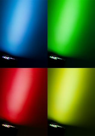 multi colors: multi colors of spotlight on wall